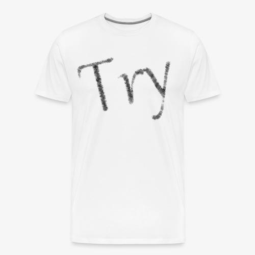 001 - Try - Männer Premium T-Shirt