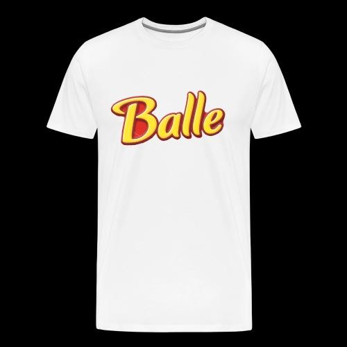 Ballerina - Premium-T-shirt herr