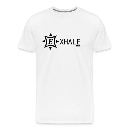 Exhale 10K White - Men's Premium T-Shirt
