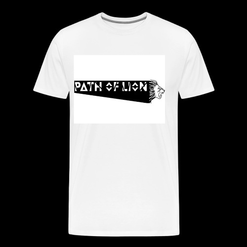 Path_of_Lion - Männer Premium T-Shirt