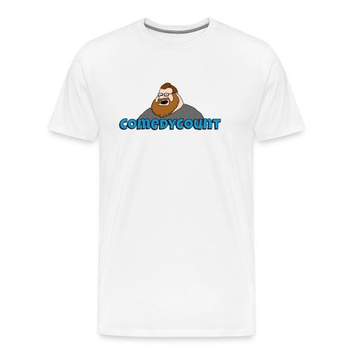 COMEDY LOGO - Herre premium T-shirt