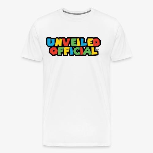 Unveiled Video Games Logo - Men's Premium T-Shirt