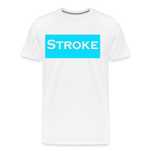 STROKE - Men's Premium T-Shirt