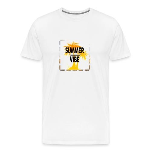 Summer Vibe ( Sommer Stimmung) - Männer Premium T-Shirt