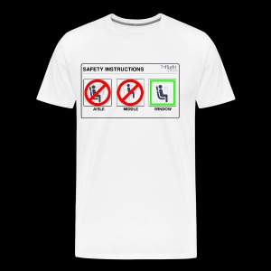Windowseat Safety Instructions - Men's Premium T-Shirt