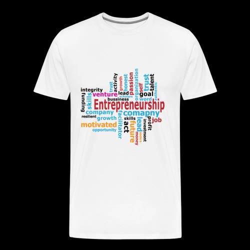 Motivation, Passion, Entrepreneur - Männer Premium T-Shirt