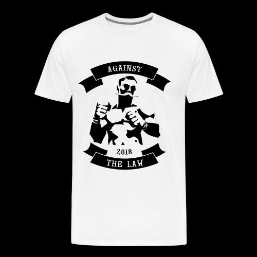 AGAINST THE LAW - Männer Premium T-Shirt
