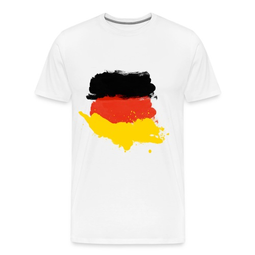 German flag shirt01 - Männer Premium T-Shirt