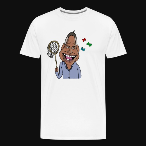 Fjärilar K - Premium-T-shirt herr