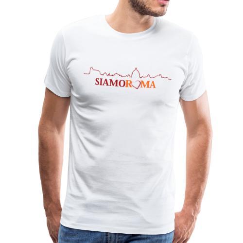 SIAMO ROMA - Maglietta Premium da uomo