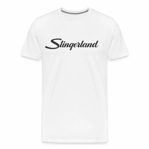 slingerland300dpi - Mannen Premium T-shirt