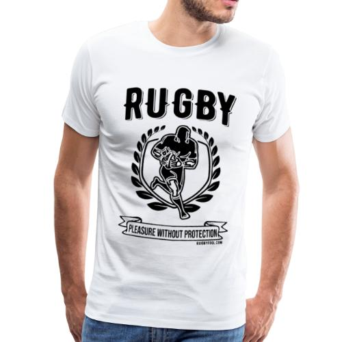 Rugby Pleasure (Black) - Men's Premium T-Shirt