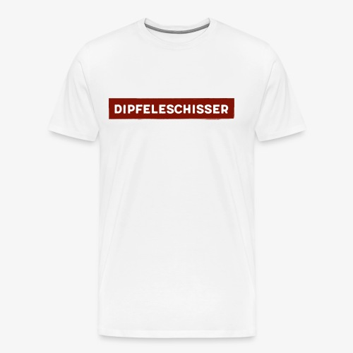 Dipfeleschisser - Männer Premium T-Shirt
