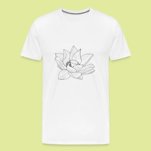 FlowerBlüte - Männer Premium T-Shirt