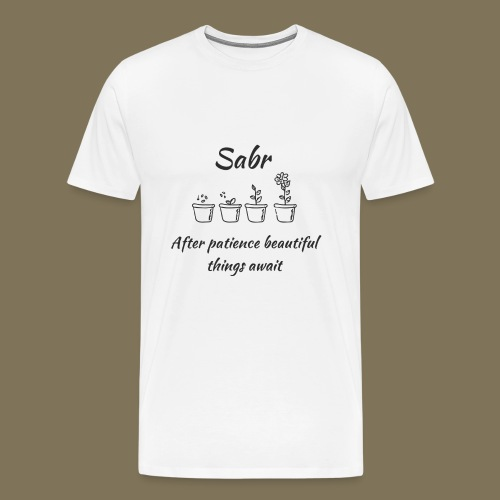 Sabr - Männer Premium T-Shirt