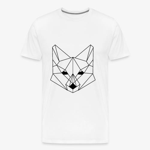 Geometrischer Fuchs - Männer Premium T-Shirt