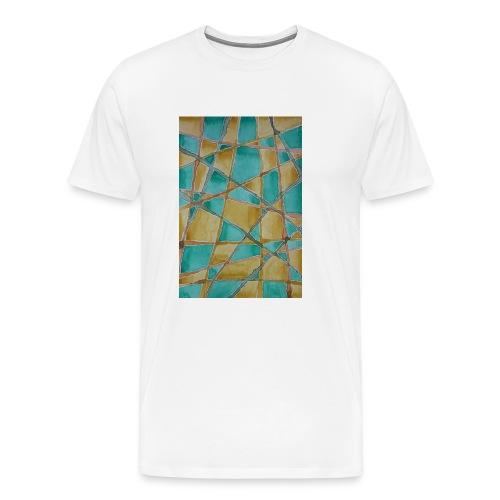Watercolour Art painting - Men's Premium T-Shirt