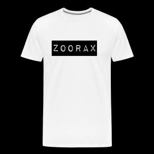 Zoorax black - Men's Premium T-Shirt