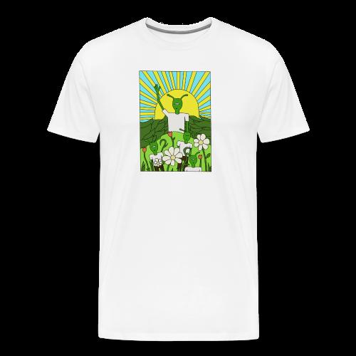 flower tee - Mannen Premium T-shirt