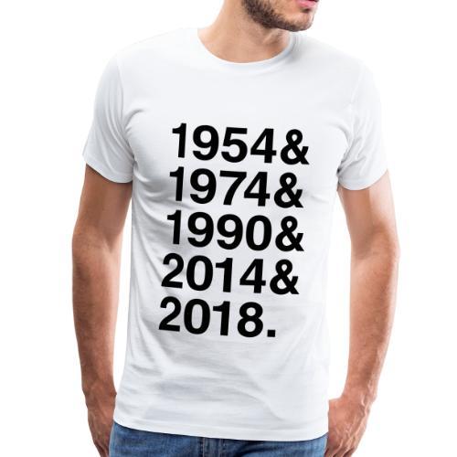 &2018 Titelverteidigung - Männer Premium T-Shirt