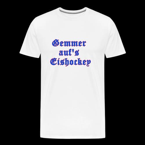 hockey - Männer Premium T-Shirt