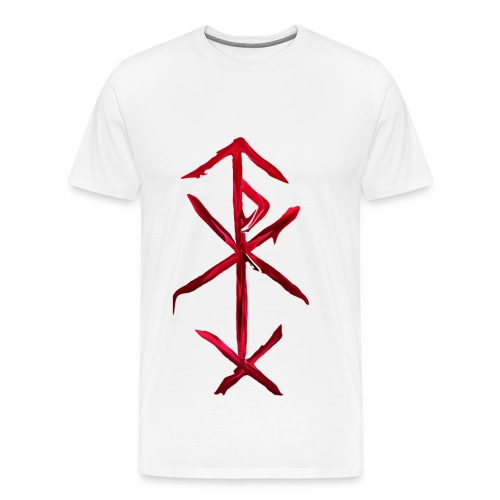 bind rune of love magic - Men's Premium T-Shirt