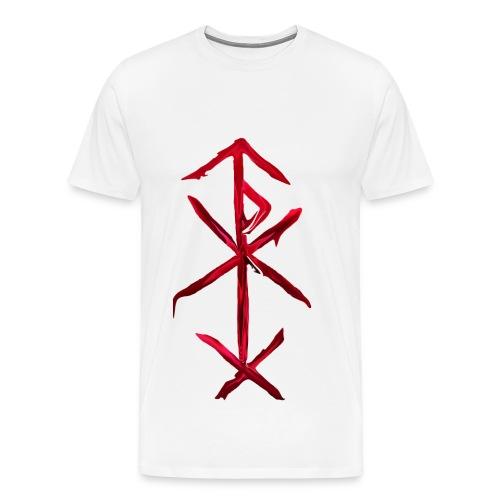 bind rune of love magic - Men's Premium T-Shirt
