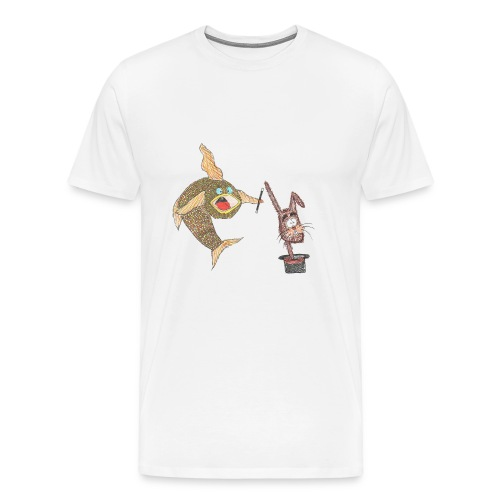 Karlo_Karpe_-_Harry_Hare-jpg - Herre premium T-shirt
