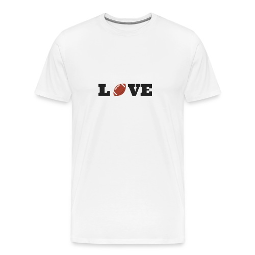 Love foot us - T-shirt Premium Homme