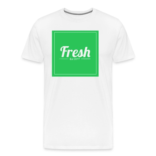 Green square - Men's Premium T-Shirt