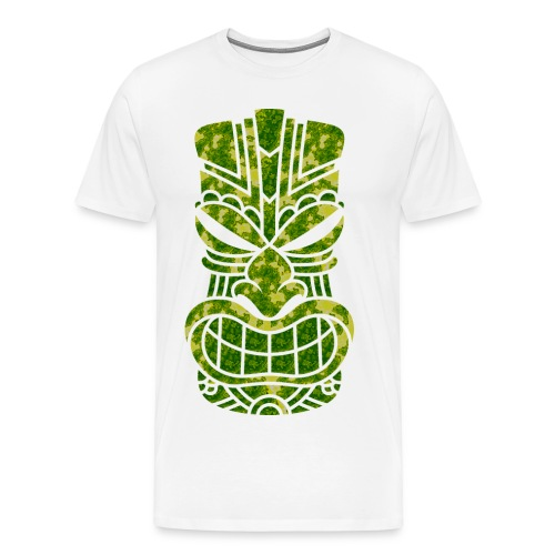 Tū of the angry face - Men's Premium T-Shirt
