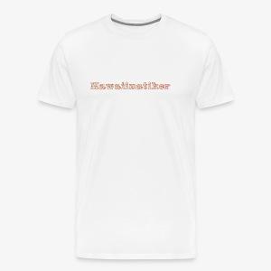 Hawaiinatiker - Männer Premium T-Shirt