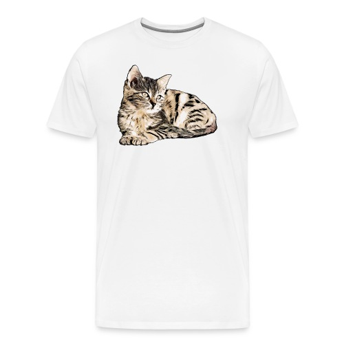 Süße Katze - GOutside - Männer Premium T-Shirt