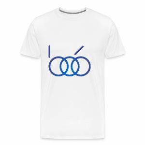 B06 IT Solutions Logo (blue) - Männer Premium T-Shirt