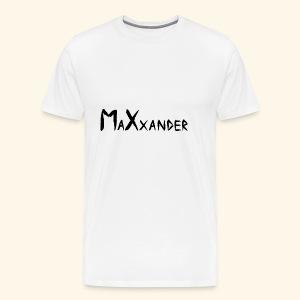 MaXxander Black - Männer Premium T-Shirt