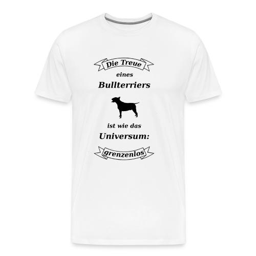 Bullterriers Treue - Männer Premium T-Shirt