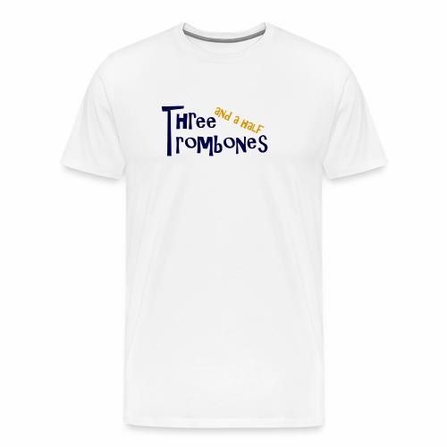 Three and a half Trombones Logo - Männer Premium T-Shirt
