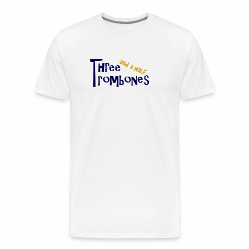 Three and a half Trombones Logo - Männer Premium T-Shirt