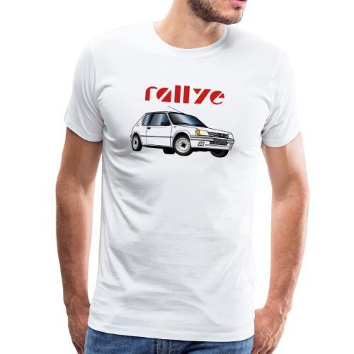 1 3 rallye 88 89 Blanc Meije - T-shirt Premium Homme