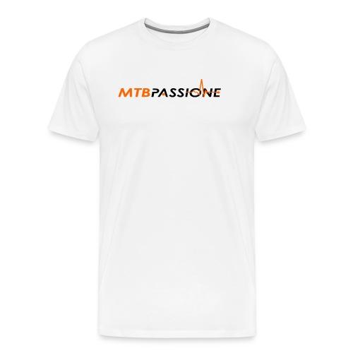 Logo Grafico MTB Passione - Maglietta Premium da uomo