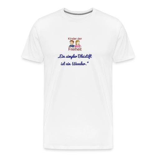 Bleistift - Männer Premium T-Shirt