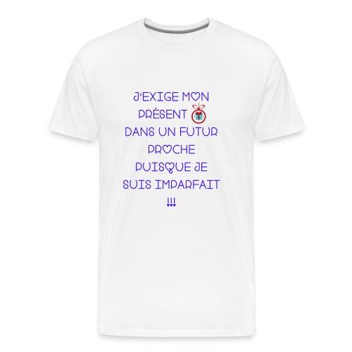 Je suis imparfait - T-shirt Premium Homme