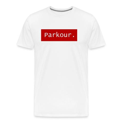Parkour. - Mannen Premium T-shirt