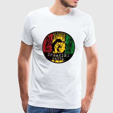 Reggae lion - Men's Premium T-Shirt