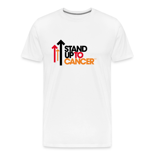 stand up to cancer logo - Men's Premium T-Shirt