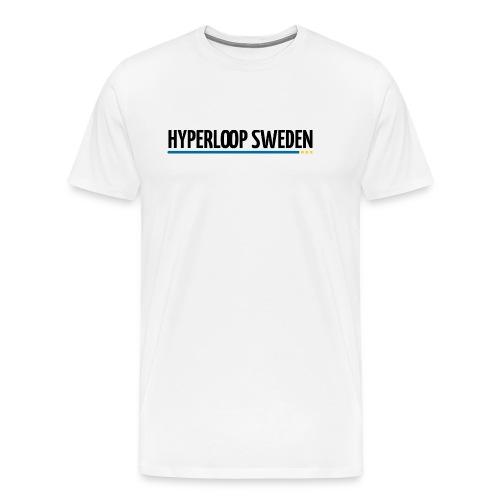 Hyperloop Sweden - Premium-T-shirt herr