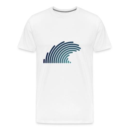 Blue Wave - T-shirt Premium Homme