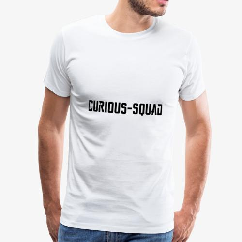 CuriousSquad - Mannen Premium T-shirt