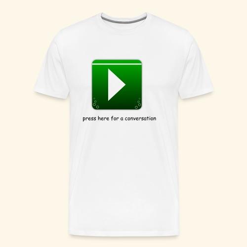 press here - Männer Premium T-Shirt