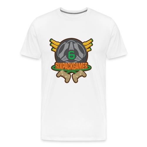 Sixpack Games Logo - Men's Premium T-Shirt